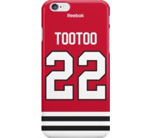 Chicago Blackhawks Jordin Tootoo Jersey Back Phone Case iPhone Case/Skin