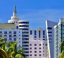Miami Beach Art Deco Hotels by DDMITR