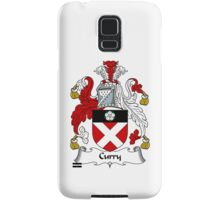 Curry Coat of Arms / Curry Family Crest Samsung Galaxy Case/Skin