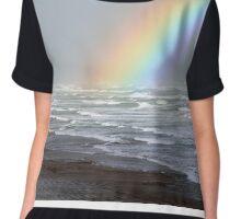 Rough Seas and Rainbows Chiffon Top