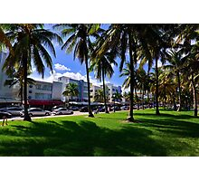 Miami Beach Ocean Drive Photographic Print