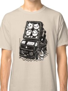 Rocket Cats - Vintage Style Classic T-Shirt