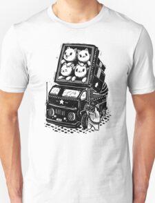 Rocket Cats - Vintage Style Unisex T-Shirt
