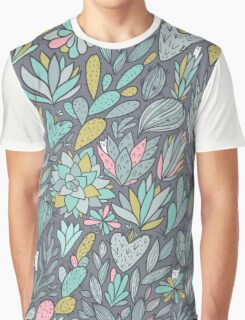Cacti and Succulents Graphic T-Shirt