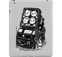 Rocket Cats - Vintage Style iPad Case/Skin