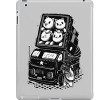 Rocket Cats - Vintage Style iPad Case/Skin