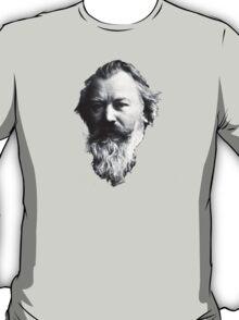Johannes Brahms Face T-Shirt