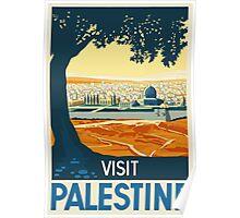 Visit Palestine - Vintage Travel Poster Poster