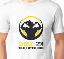 Saiyan Gym - Train Over 9000 Unisex T-Shirt