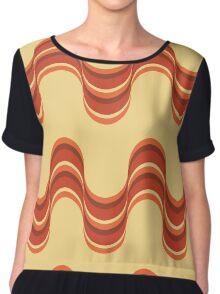 Cute 70s shift dress pattern Chiffon Top