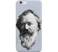 Johannes Brahms Face iPhone Case/Skin