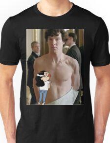 Sherlock - fangirl licking Benedict Cumberbatch Unisex T-Shirt