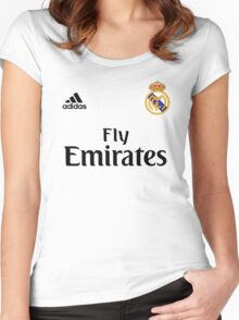 Real Madrid FC Women's Fitted Scoop T-Shirt