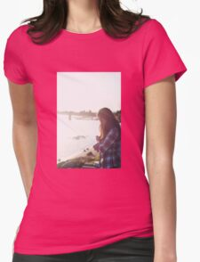 Candid Womens Fitted T-Shirt