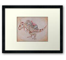 All I Want, is to be a Unicorn. Framed Print