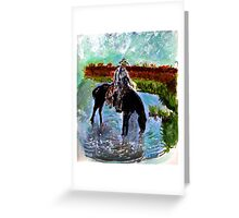Tea Time on the Range Greeting Card