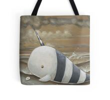 Beached Narwhal Tote Bag