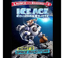 Ice Age Collision Course Film Photographic Print