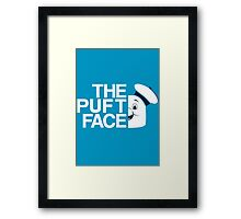 The Puft Face Framed Print