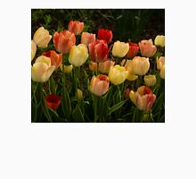 Multicolored Tulips - Enjoying the Beauty of Spring Womens Fitted T-Shirt