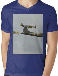Sally B and Escort Mens V-Neck T-Shirt