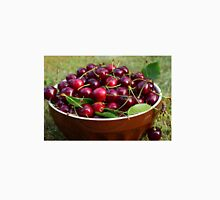 Cherries in a bowl Unisex T-Shirt