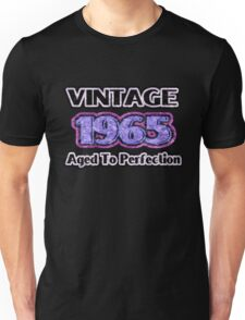 Vintage 1965 – Aged To Perfection Unisex T-Shirt