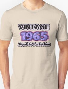 Vintage 1965 – Aged To Perfection T-Shirt