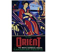Vintage Orient Japan Travel Photographic Print