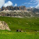 Pordoi Pass by annalisa bianchetti