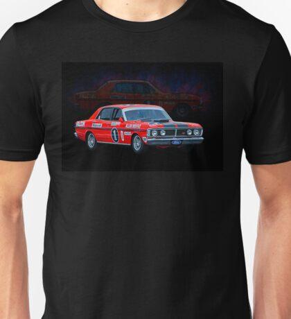 Allan Moffat Ford Falcon XY GTHO Phase III Unisex T-Shirt