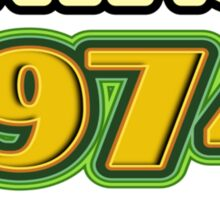 Vintage 1974 - Aged To Perfection Sticker
