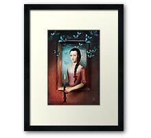 A Light in the Dark Framed Print
