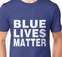 Blue Lives Matter (drk) Unisex T-Shirt