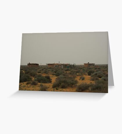 Moroccan Mansion Greeting Card