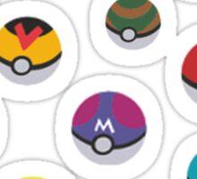 Pokeballs - Pokémon Sticker