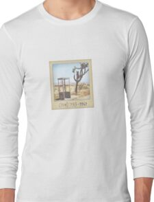 Mojave Phone Booth Long Sleeve T-Shirt