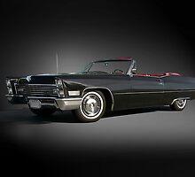 1968 Cadillac DeVille Convertible 'Studio' by DaveKoontz