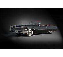 1968 Cadillac DeVille Convertible 'Studio' Photographic Print