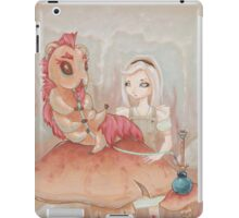 Alice and the Caterpillar. iPad Case/Skin