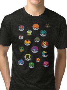 Pokeballs - Pokémon Tri-blend T-Shirt