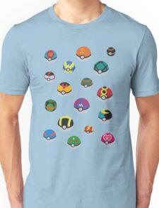 Pokeballs - Pokémon Unisex T-Shirt