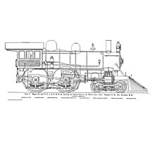 1893 World's Fastest Steam Locomotive Engine Photographic Print
