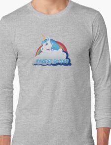 Central Intelligence - Unicorn (Not Faded) Long Sleeve T-Shirt