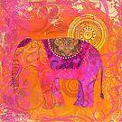 Happy Elephant II by artsandsoul