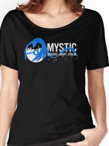 Team Mystic Toronto [1] [white text] Women's Relaxed Fit T-Shirt