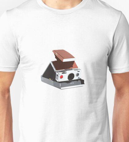 SX70 Retro Camera Design Unisex T-Shirt