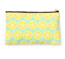 Lemon Pattern Studio Pouch
