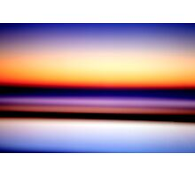 I travel by land and sea Photographic Print
