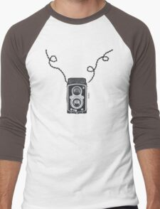 Retro Rolleiflex Design Men's Baseball ¾ T-Shirt
